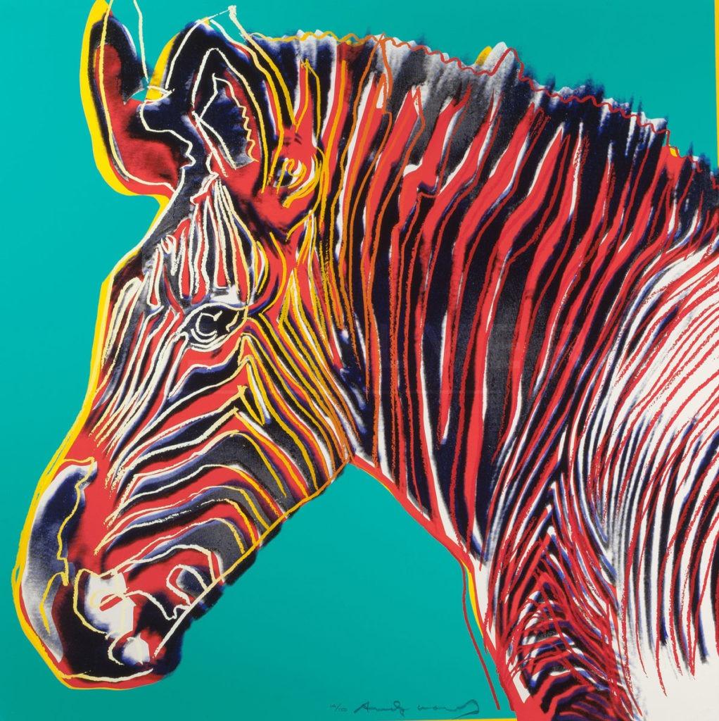 Andy Warhol - Grevys Zebra F.S. II 300 jpg