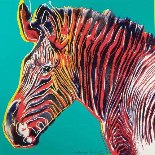 Andy Warhol – Grevys Zebra F.S. II 300 jpg