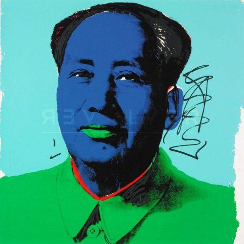 Andy Warhol - Mao F.S. II 99 jpg