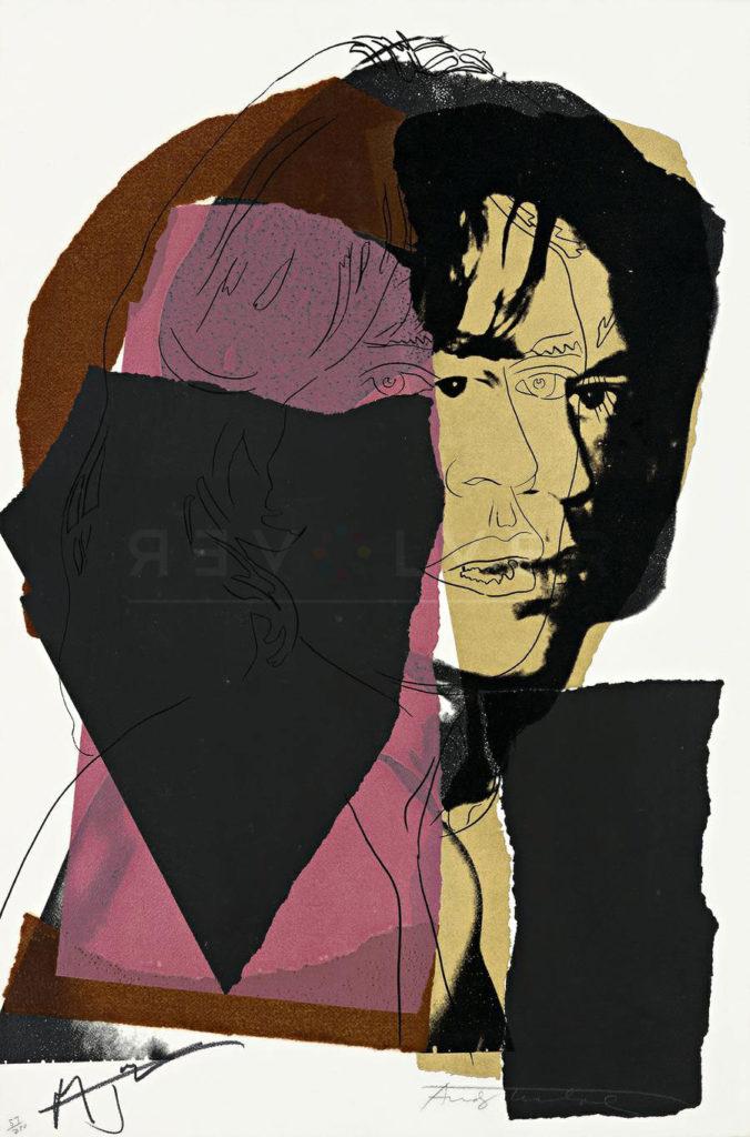 Andy Warhol - Mick Jagger F.S. II 139 jpg
