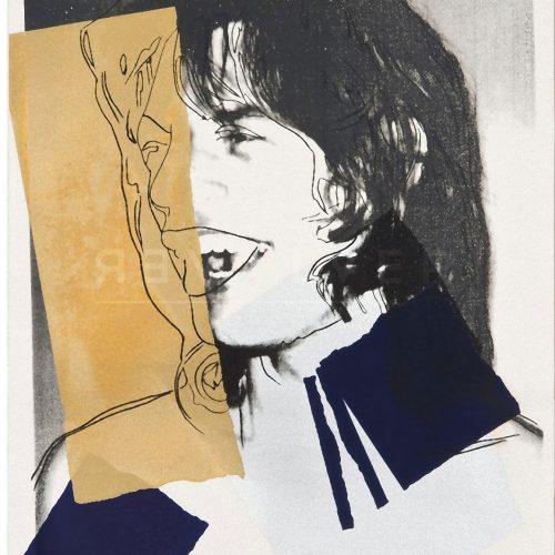 Andy Warhol - Mick Jagger F.S. II 142 jpg