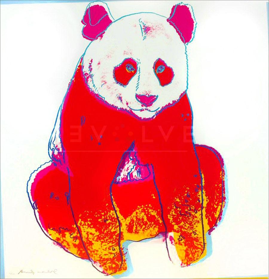 Andy Warhol - Giant Panda F.S. II 295 jpg