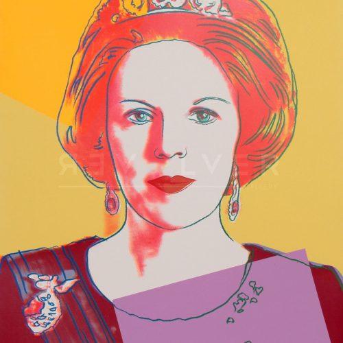 Andy Warhol – Queen Beatrix of the Netherlands F.S. II 341 jpg