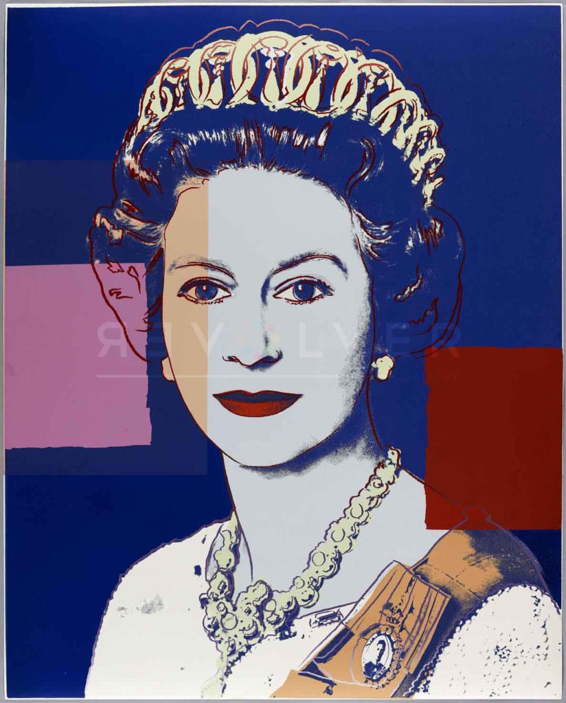 Andy Warhol - Queen Elizabeth F.S. II 337 jpg