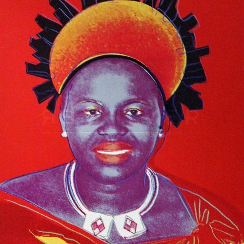Andy Warhol – Queen Ntombi F.S. II 349 jpg