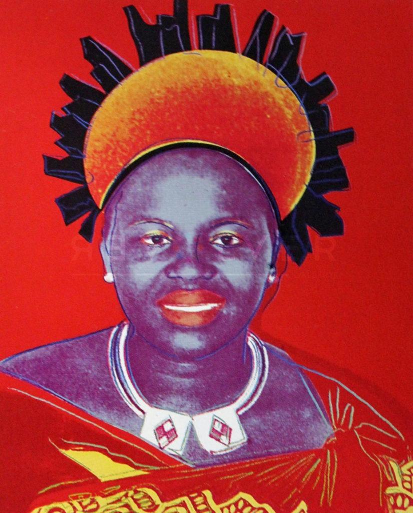 Andy Warhol - Queen Ntombi F.S. II 349 jpg