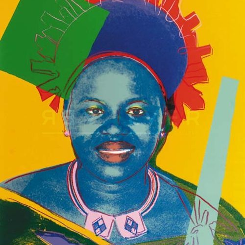 Andy Warhol – Queen Ntombi F.S. II 348 jpg