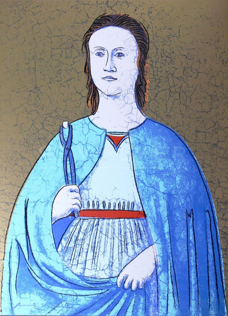 Saint Apollonia F.S. II 332 - Andy Warhol jpg