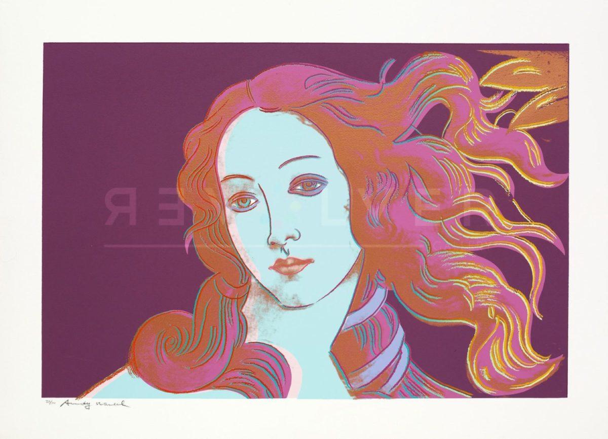 Andy Warhol - Birth of Venus F.S. II 317 jpg