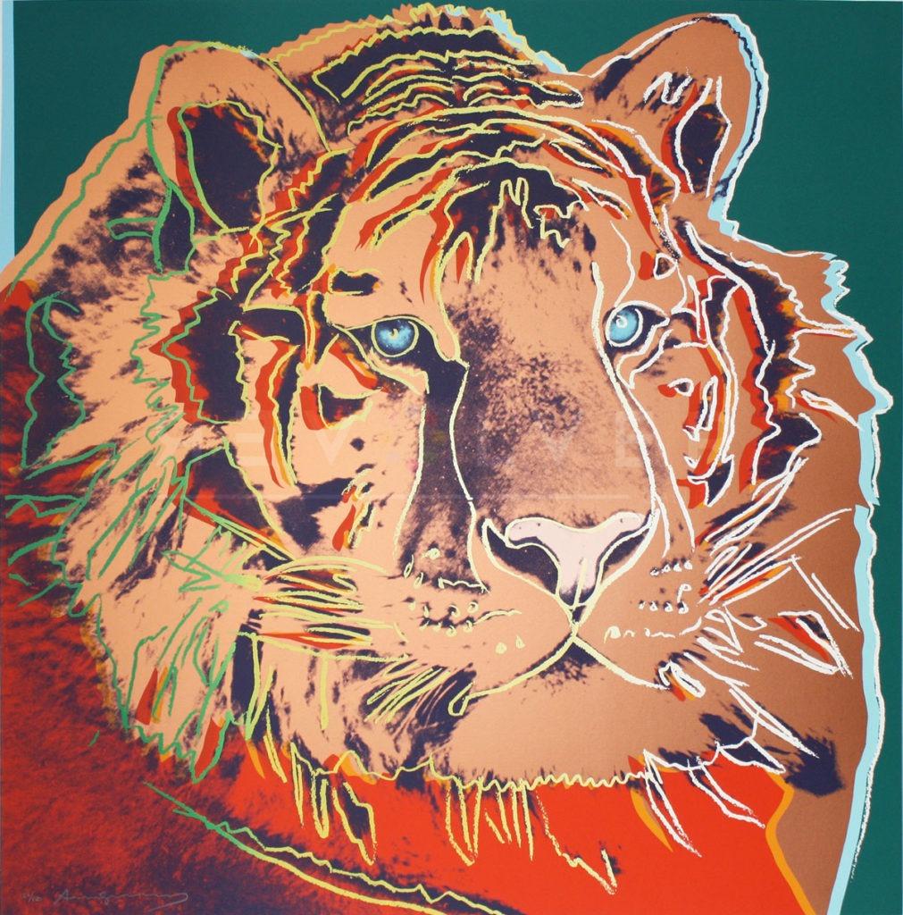 Andy Warhol - Siberian Tiger F.S. II 297 jpg
