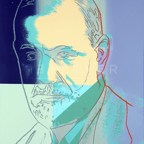 Andy Warhol – Sigmund Freud F.S. II 235 jpg