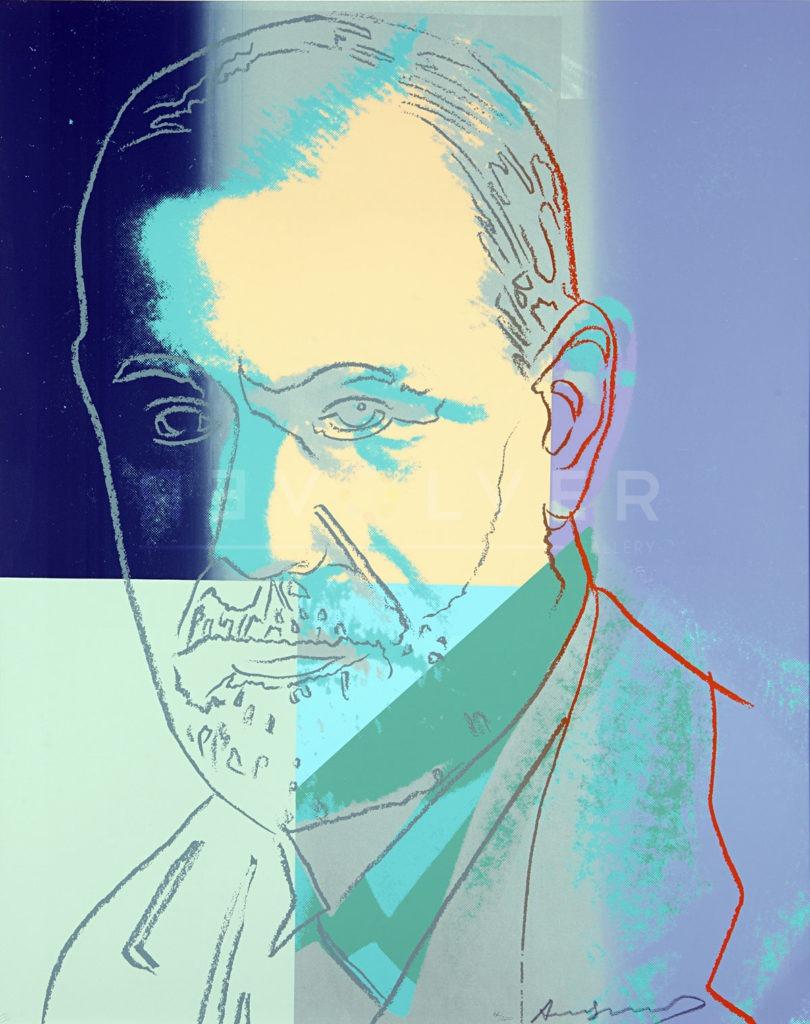 Andy Warhol - Sigmund Freud F.S. II 235 jpg