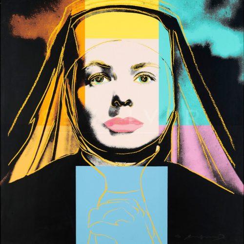 Andy Warhol – The Nun FS II314 jpg