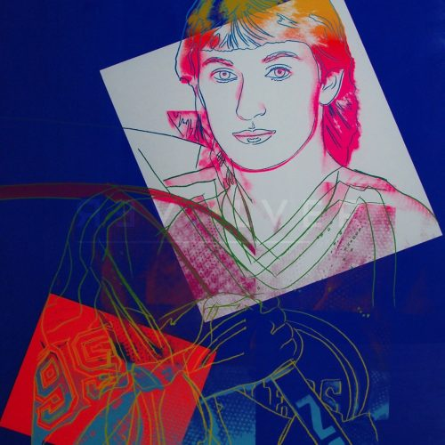 Andy Warhol - Wayne Gretzky F.S. II 306 jpg