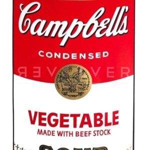 Andy Warhol Vegetable Soup from Campbell's Soup, original screenprint.