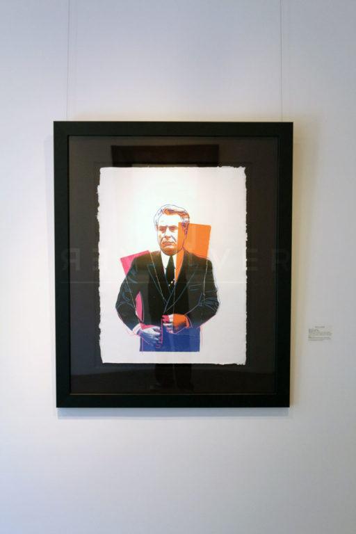 Andy Warhol - John Gotti framed jpg