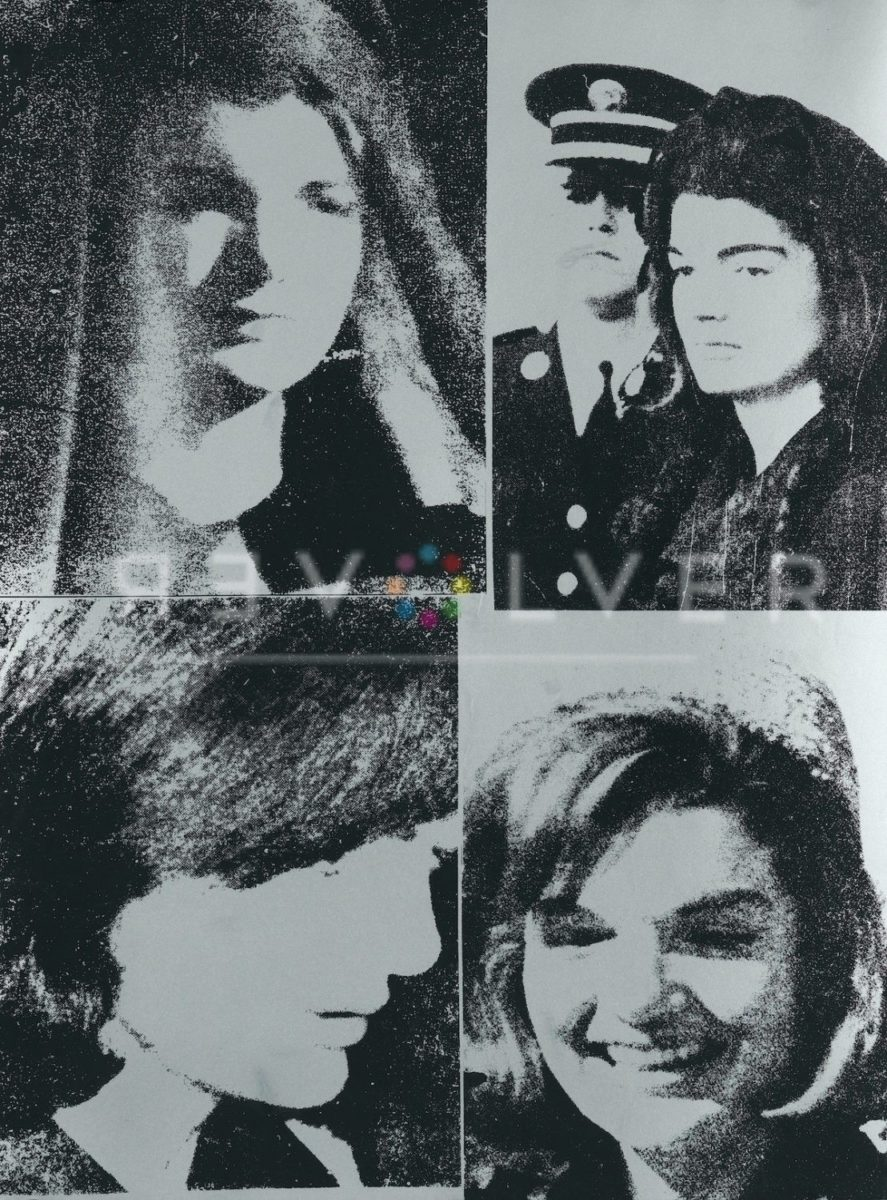 Picture of Jacqueline Kennedy III (Jackie III) (FS II.15), 1966, stock version, by Andy Warhol