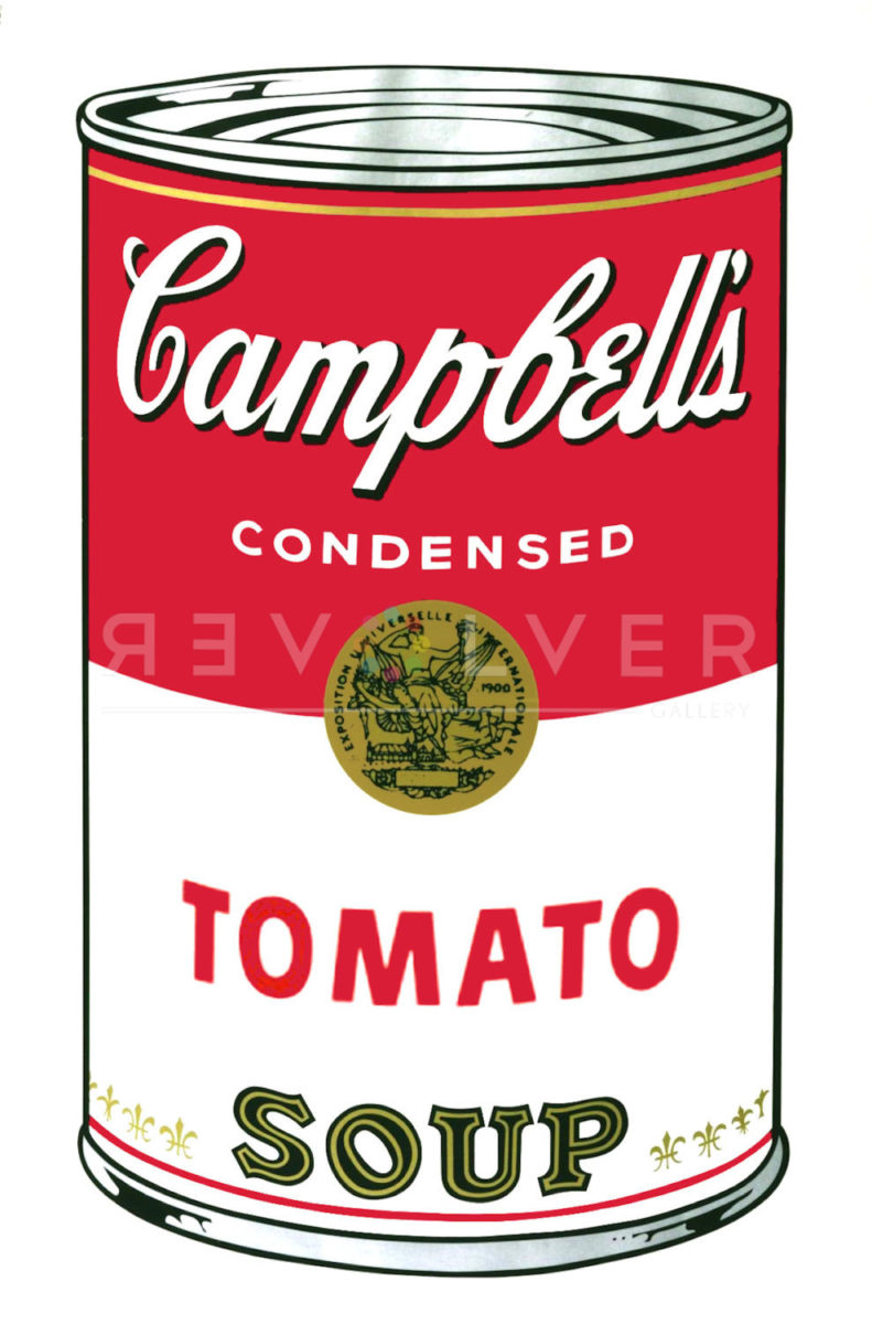 Picture of Campbell Soup I: Tomato (FS II.46), 1968, stock version, by Andy Warhol