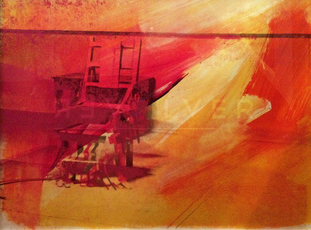 Andy Warhol - Electric Chair F.S. II 81 jpg