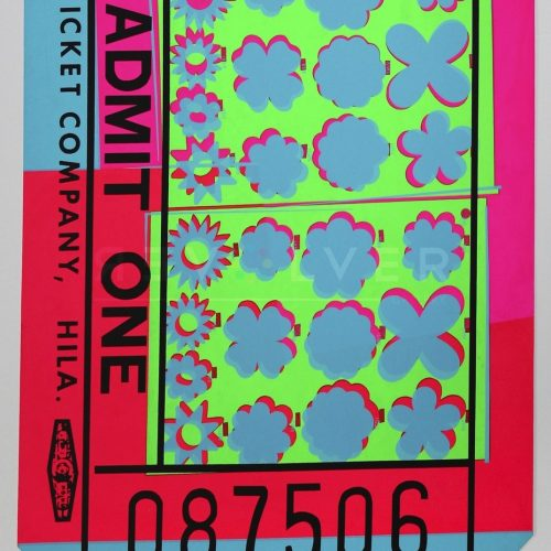 Andy Warhol – Lincoln Center Ticket F.S. II 19 jpg