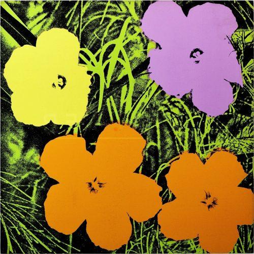 Andy Warhol - Flowers FS II67 jpg