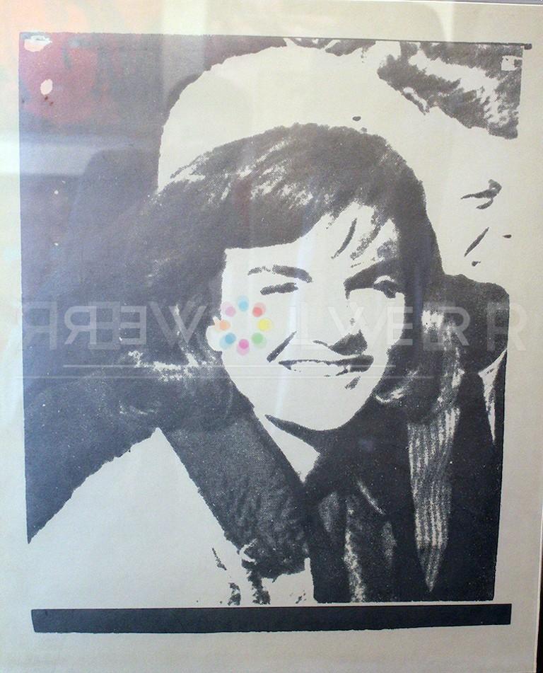 Andy Warhol Jacqueline Kennedy I (Jackie I) 13 screenprint.