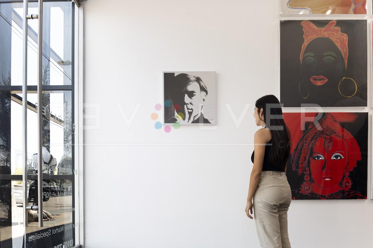 Andy Warhol - Self Portrait 17