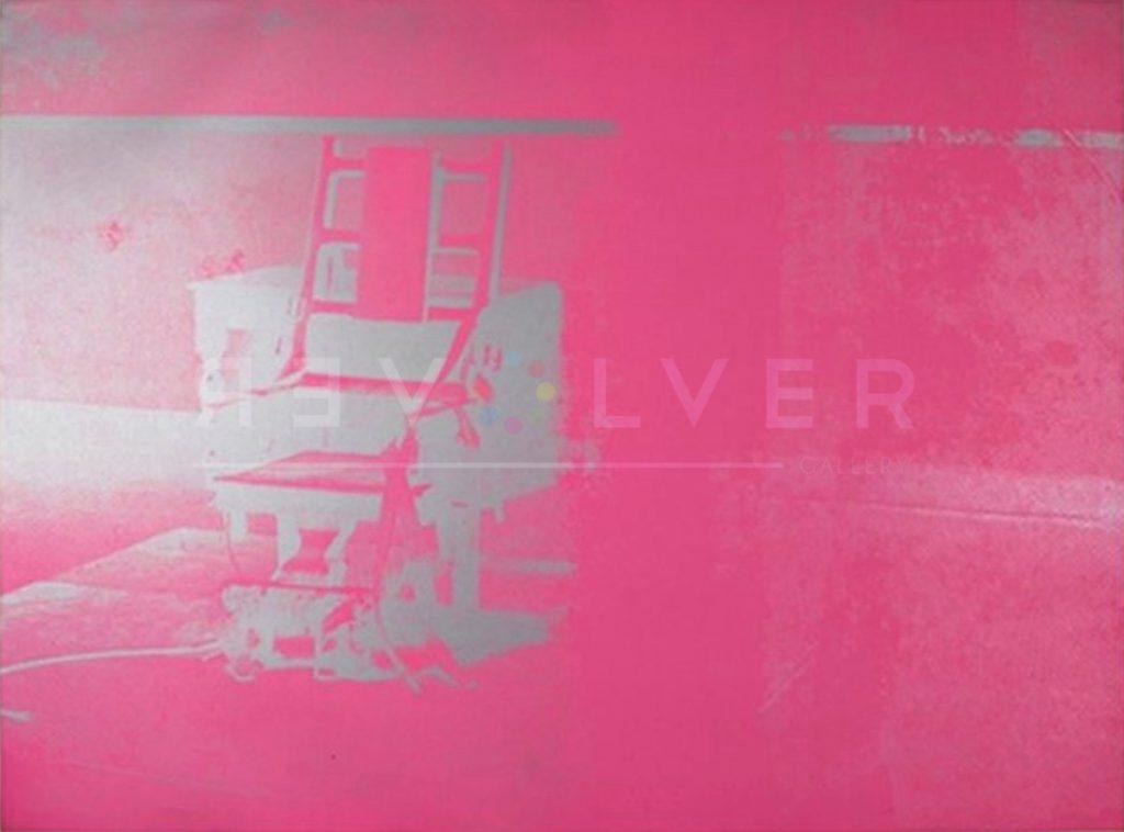 Andy Warhol - Electric Chair F.S. II 75 jpg