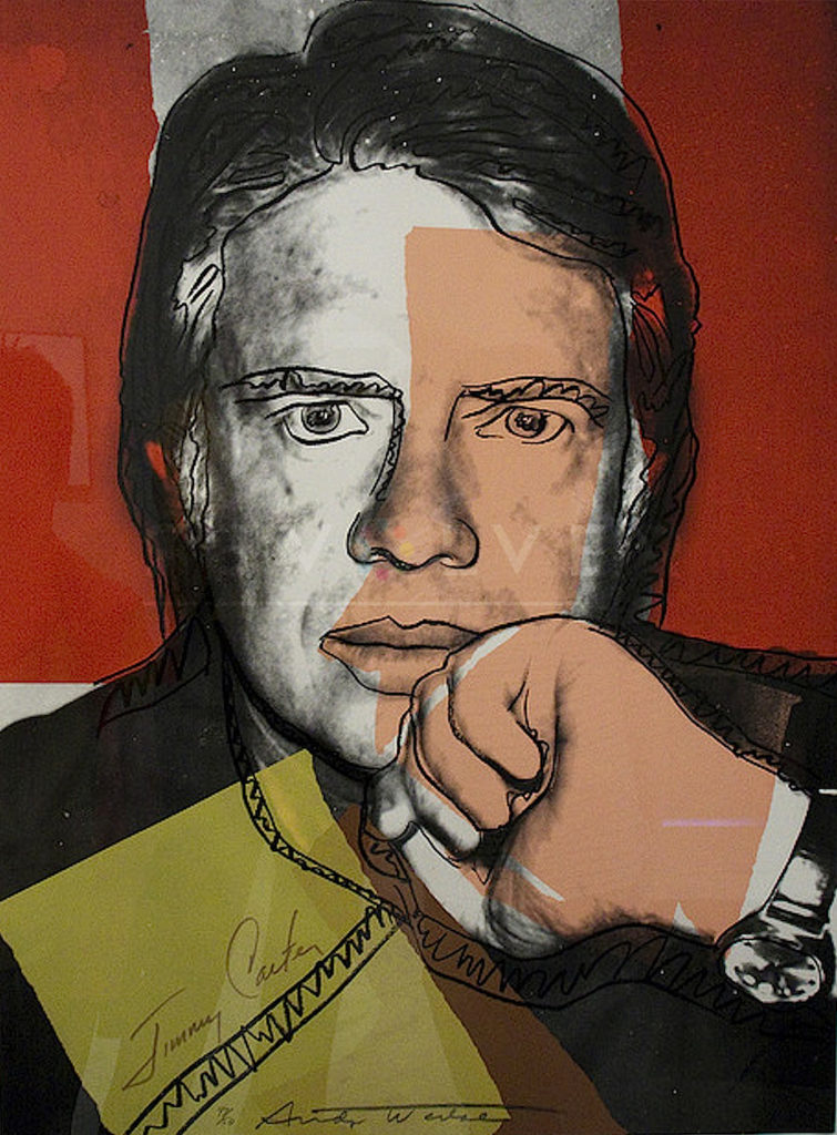 Andy Warhol - Jimmy Carter F.S. II 150 jpg