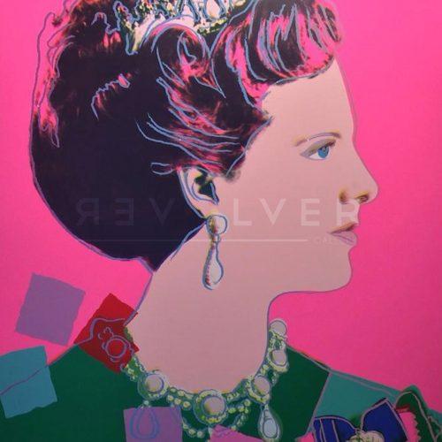 Queen Margrethe II of Denmark 345 - Andy Warhol jpg