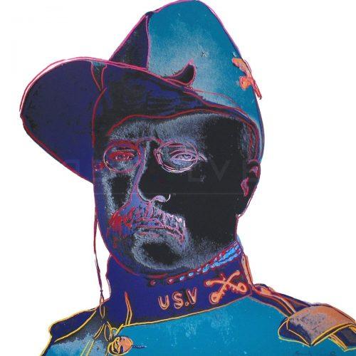 Andy Warhol - Teddy Roosevelt F.S. II 386 jpg