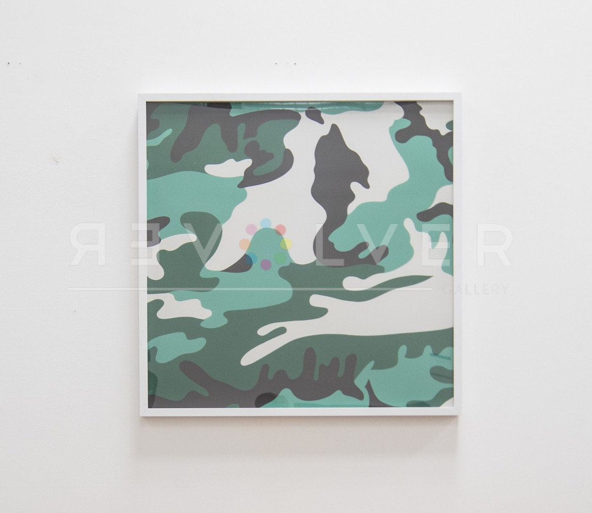 Andy Warhol - Camouflage 406