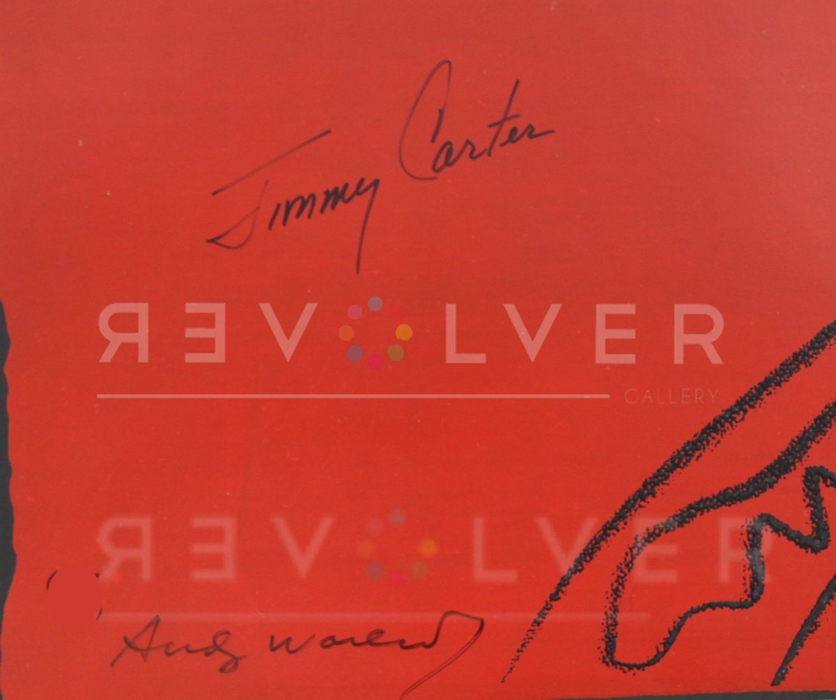 Picture of Signature, Jimmy Carter II (FS II. 51), 1976, by Andy Warhol.