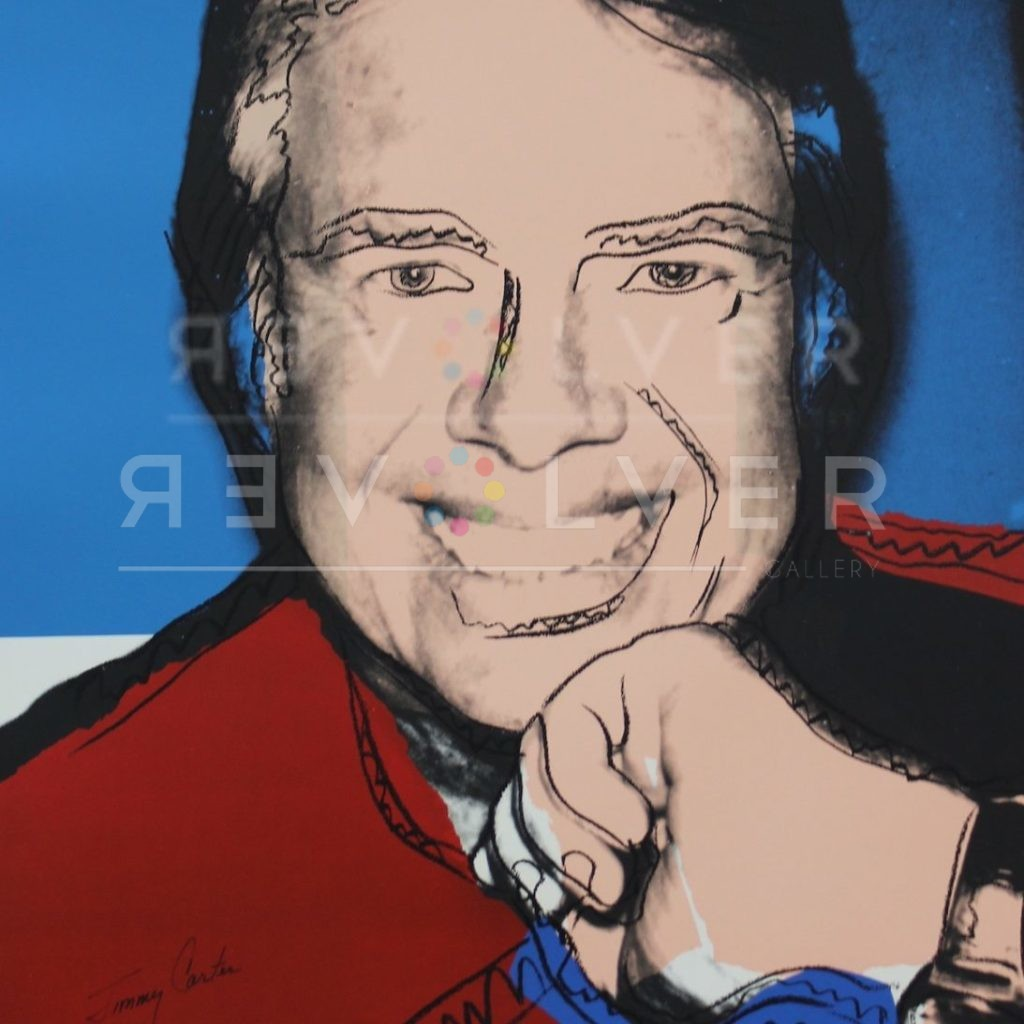 Picture of Jimmy Carter II (FS II. 151), 1976, stock version, by Andy Warhol