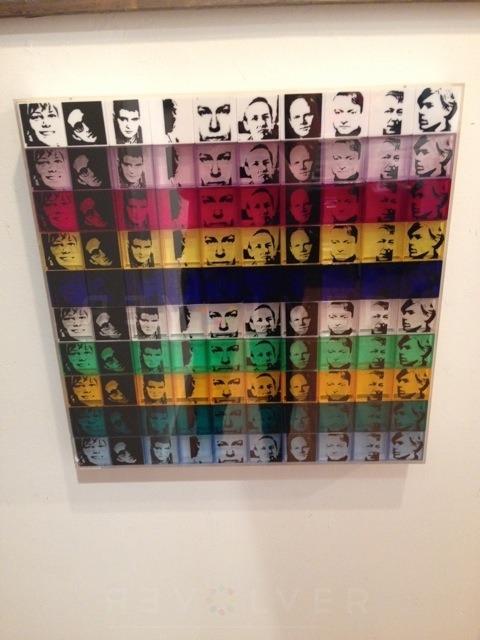 Andy Warhol - Portrait of Artists F.S. II 17 framed jpg
