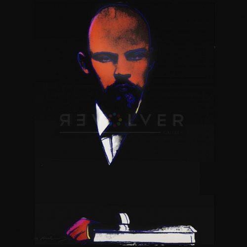 Black Lenin by Andy Warhol (Lenin 402).