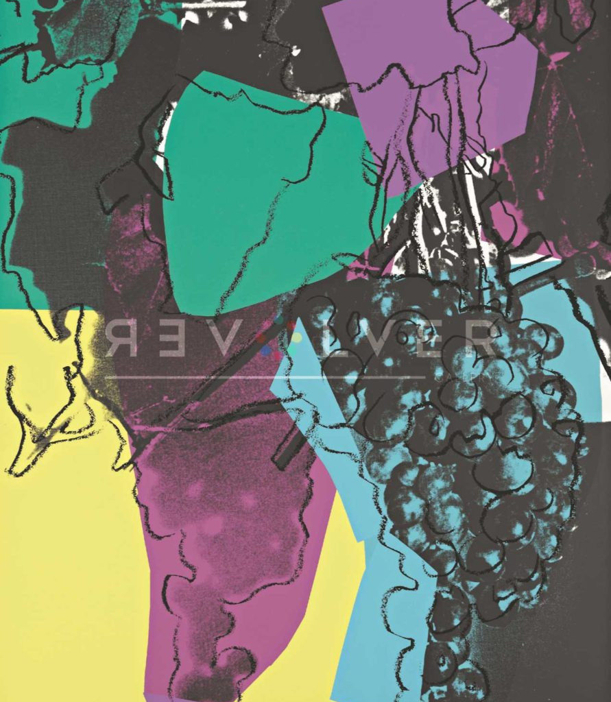 Picture of Stock Grapes (FS II.195), 1979, by Andy Warhol