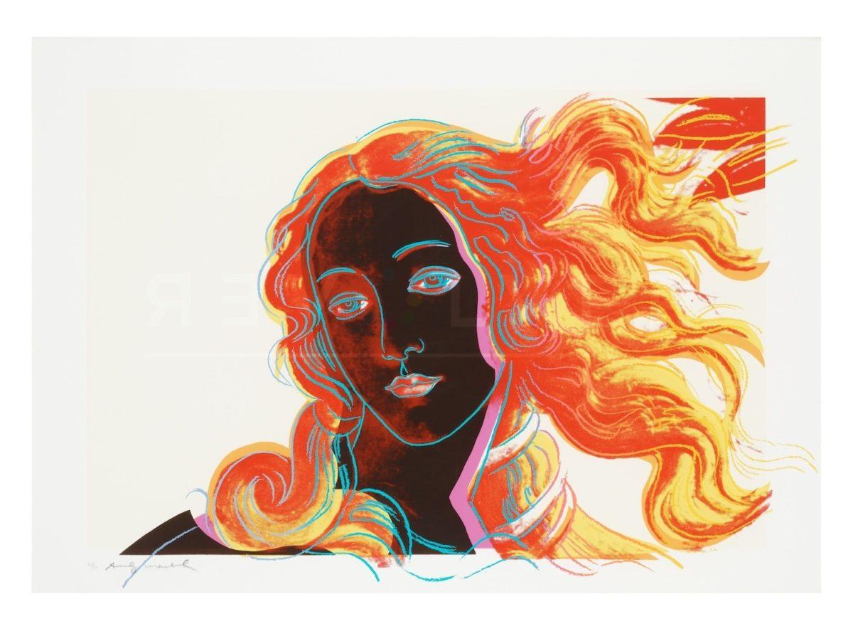 Andy Warhol - Birth of Venus Sandro Botticelli F.S. II 318 jpg