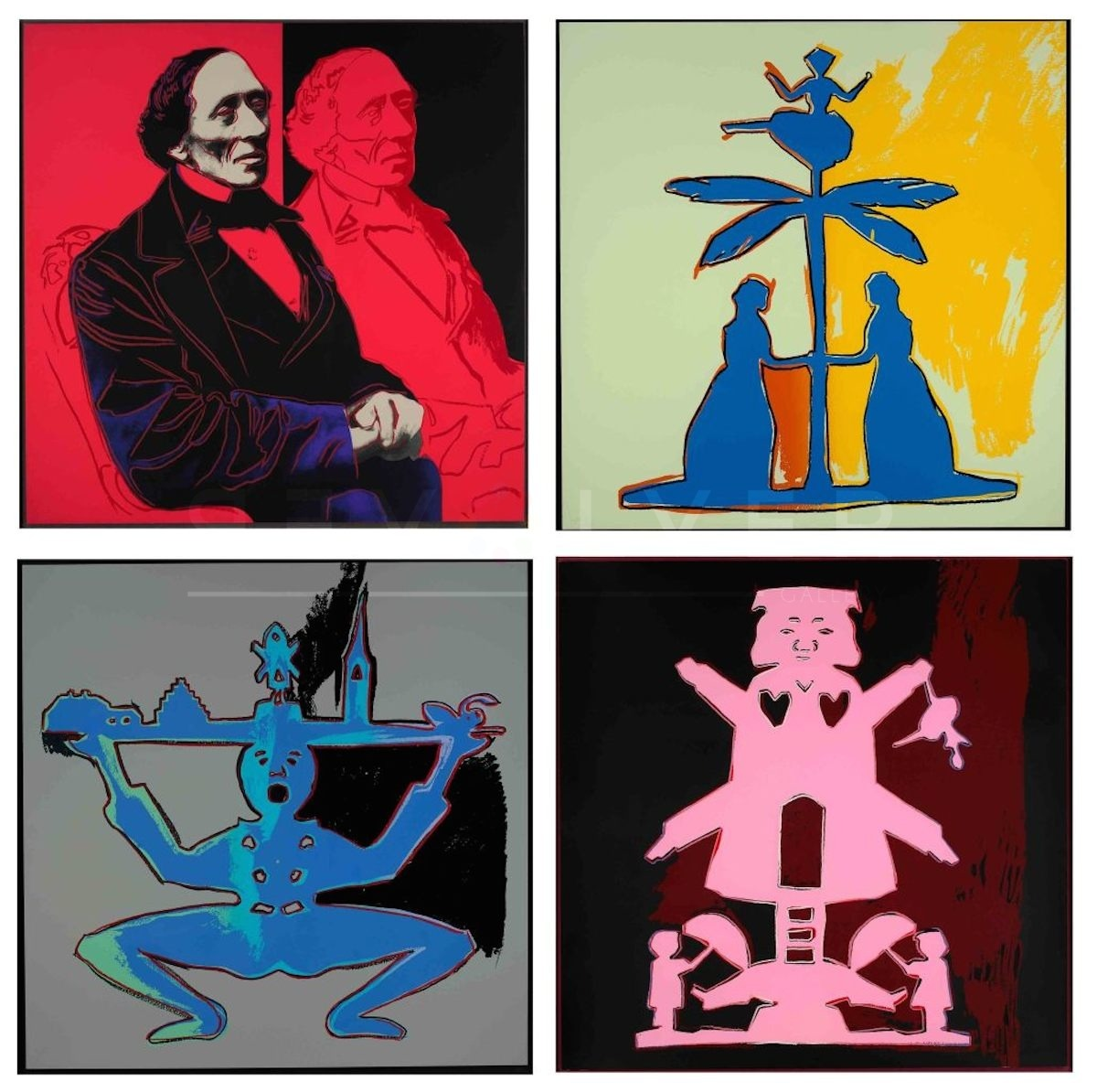 Andy Warhol - Hans Christian Andersen F.S. II 394-397 jpg