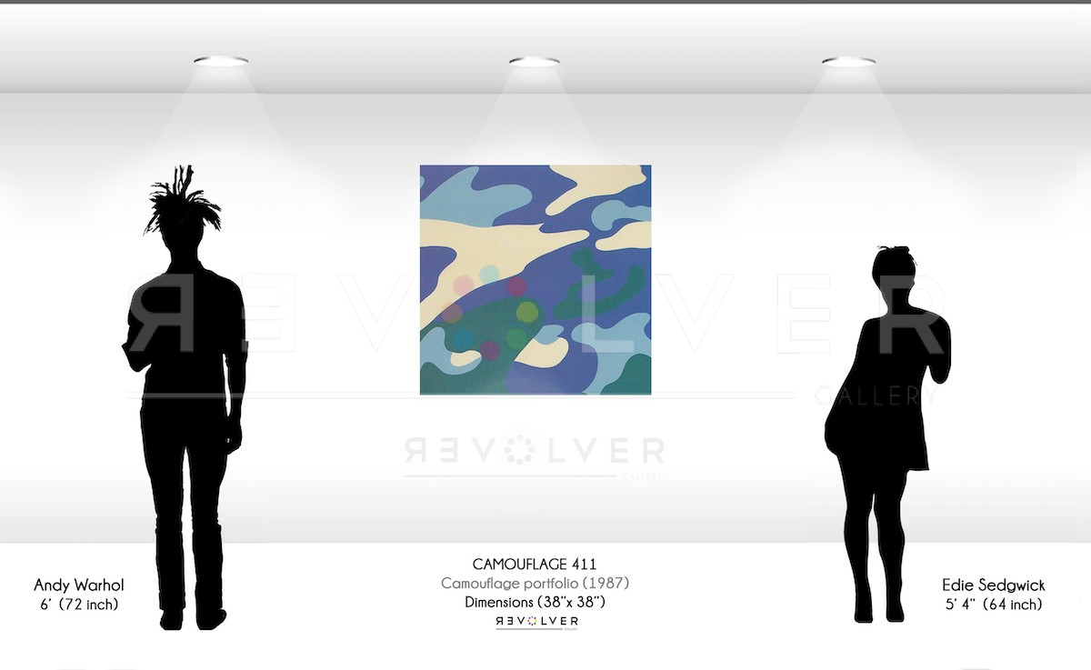 Andy Warhol - Camouflage 411