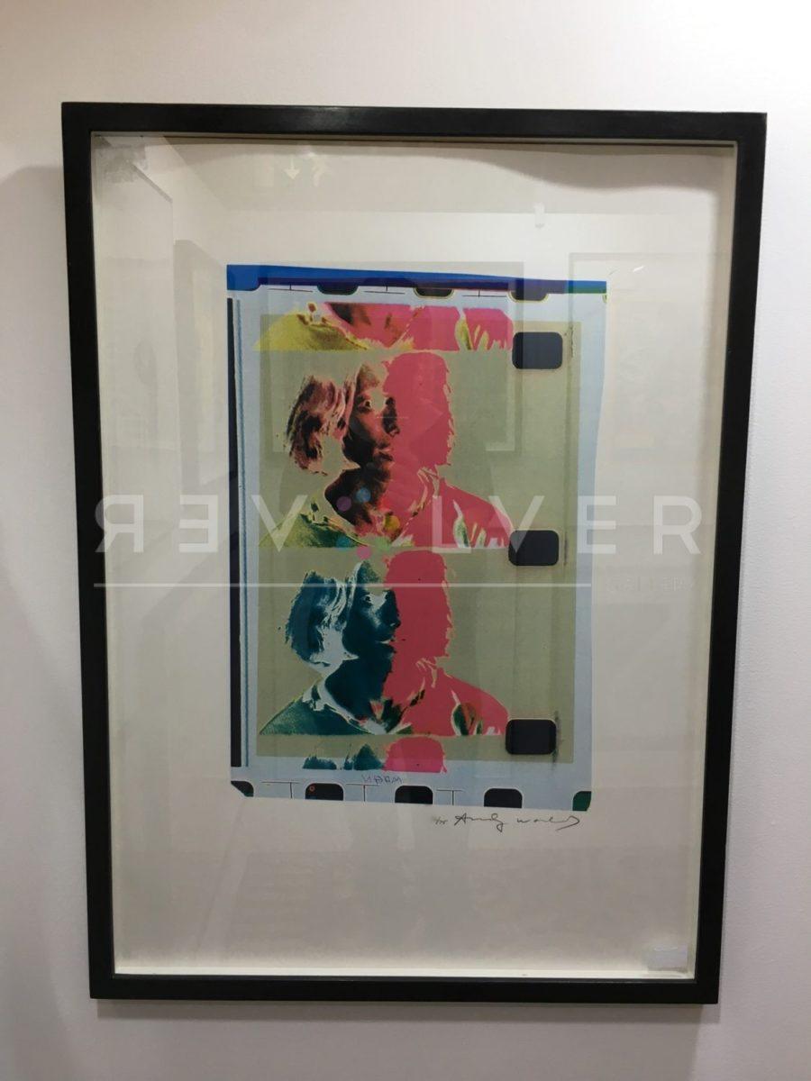 Andy Warhol Eric Emerson (Chelsea Girls) 287 screenprint in frame.