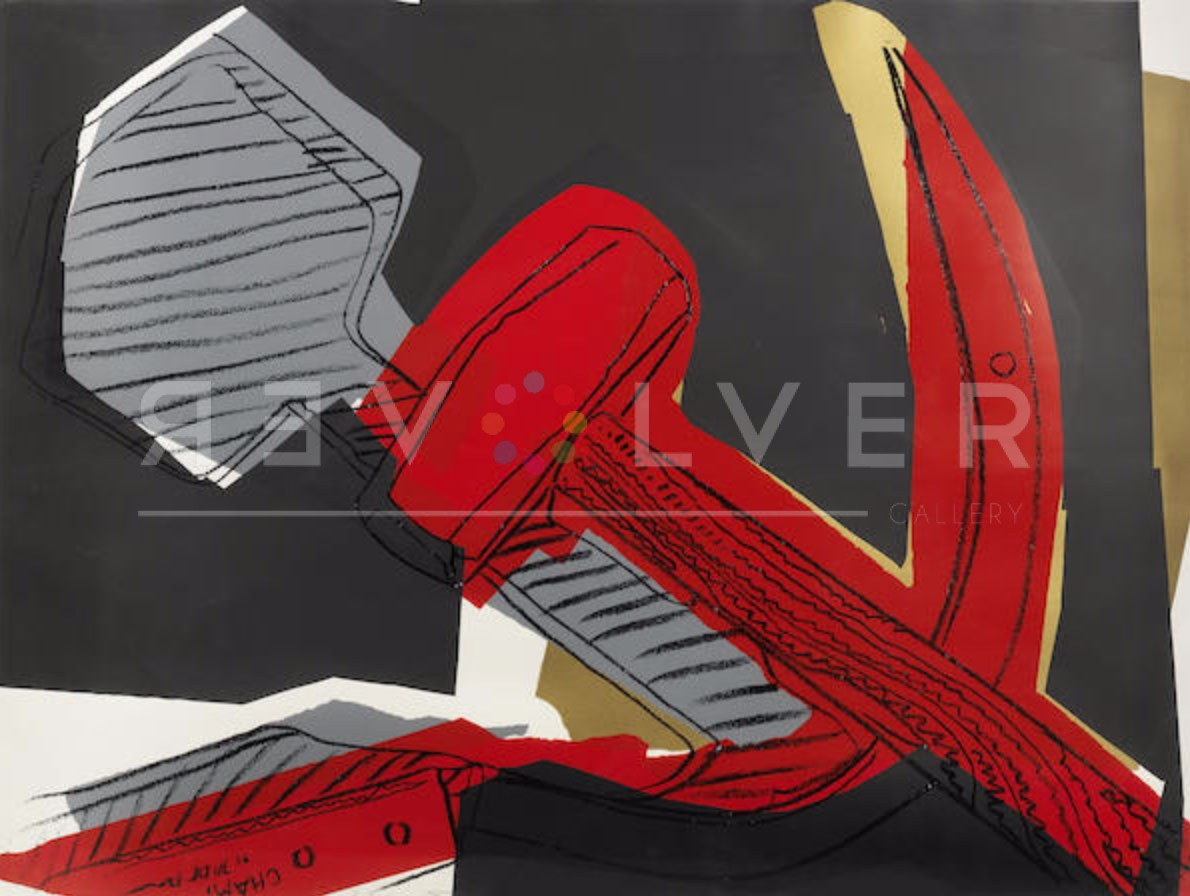 Andy Warhol - Hammer and Sickle Special Edition FS II. 169