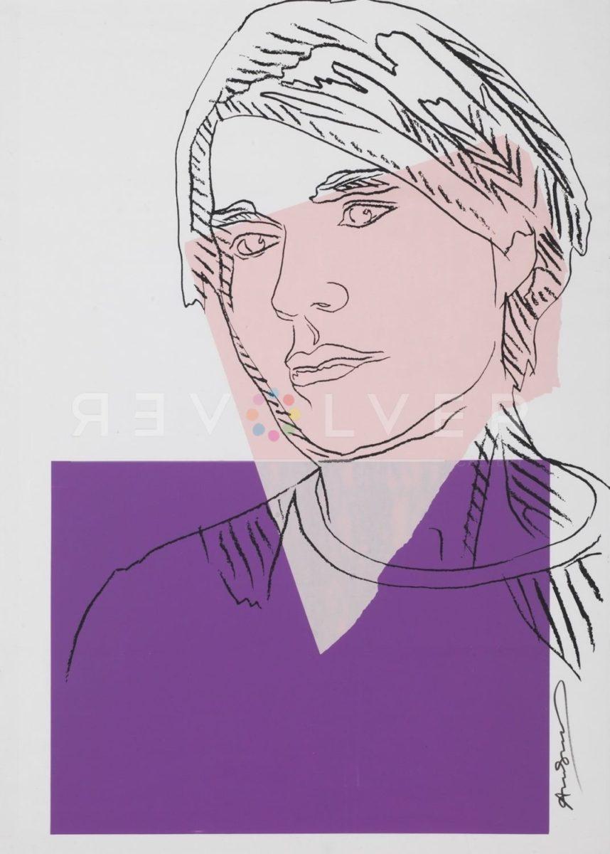 Stock Self-Portrait (FS II.156A), 1978, Original Screen Print, by Andy Warhol