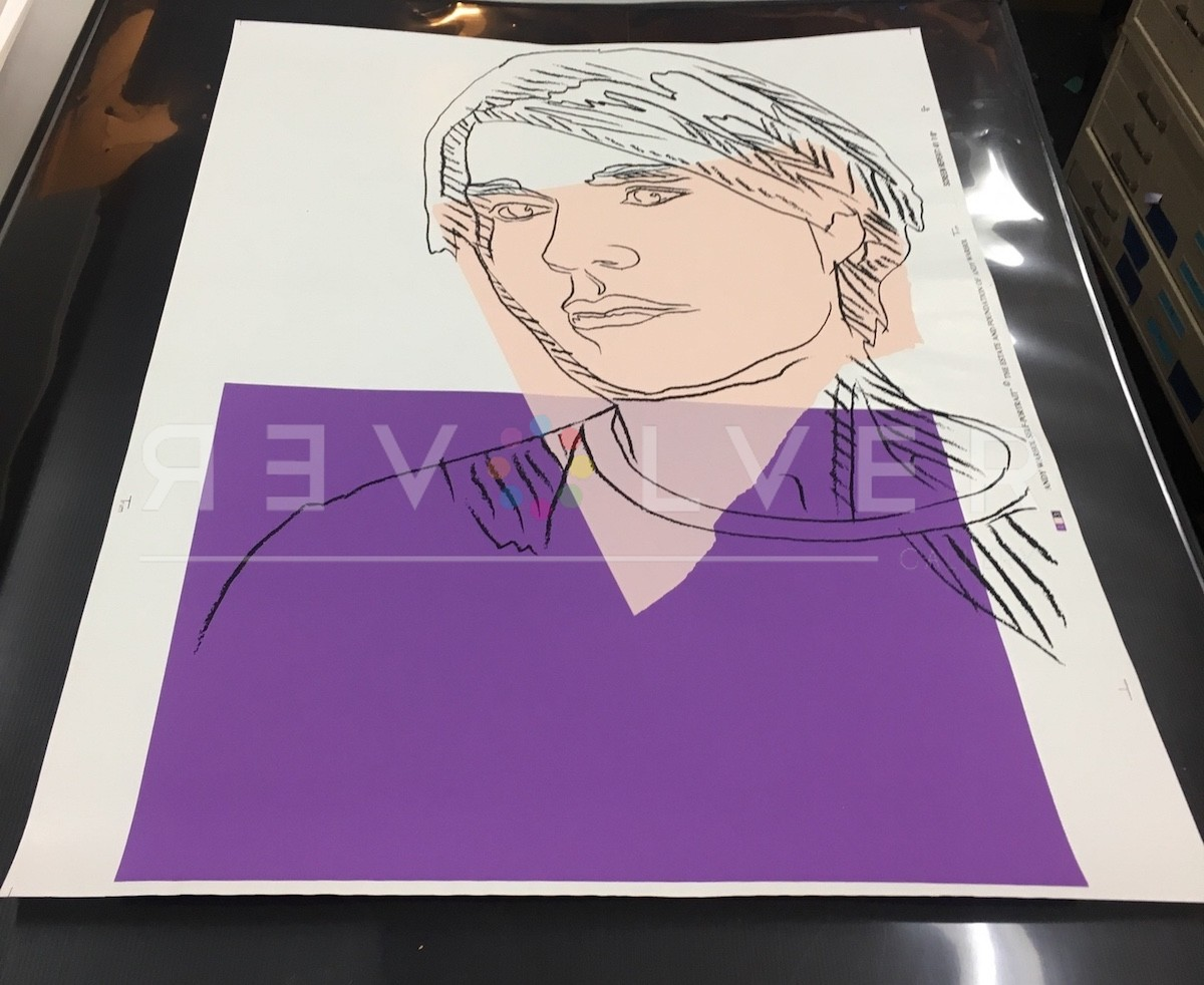 Self-Portrait (FS II.156A), 1978, Original Screen Print Out of Frame, by Andy Warhol