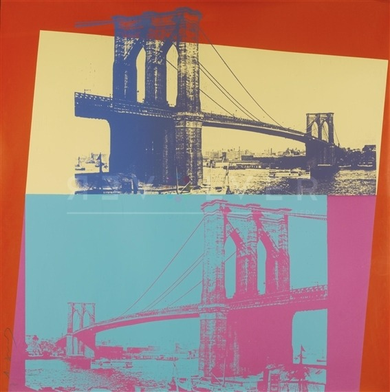 Andy Warhol - Brooklyn Bridge F.S. II 290 jpg