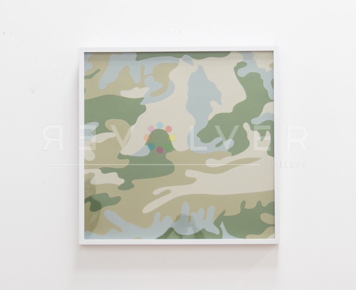 Andy Warhol - Camouflage 407