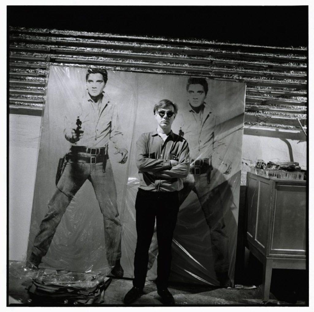 Elvis Presley and Andy Warhol