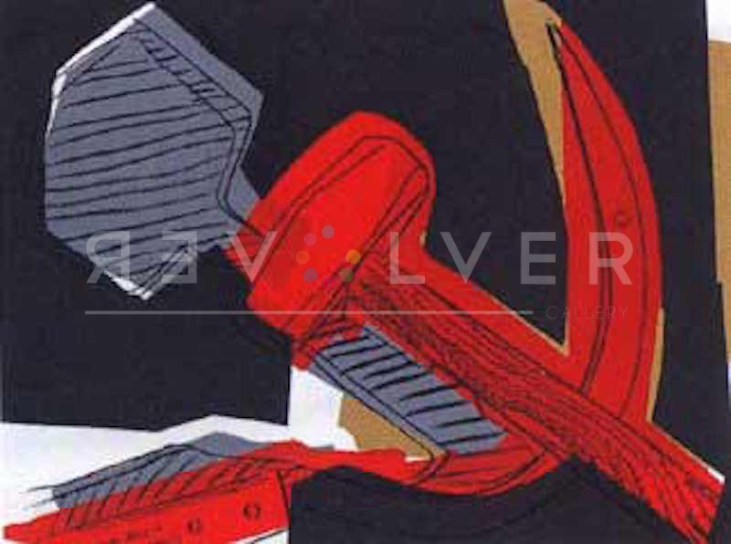 Andy Warhol - Hammer and Sickle FS-II-164