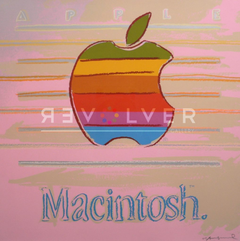 Apple 359 is an Andy Warhol screenprint from his Ads portfolio