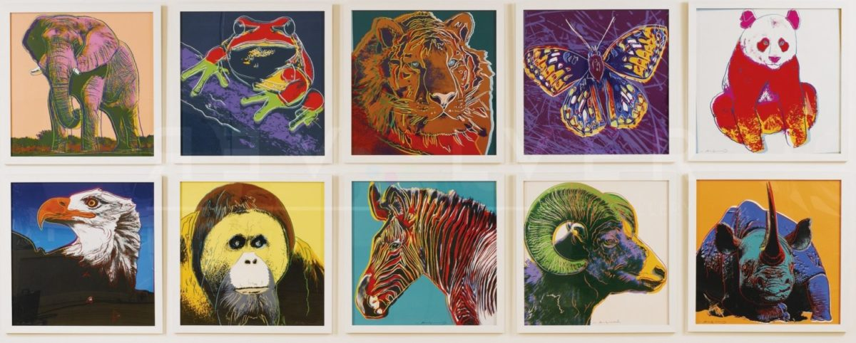 Andy Warhol Endangered Species Full Suite